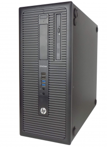 HP Prodesk 600 G1 Tower i3-4130 4GB 128SSD Win 10 PRO